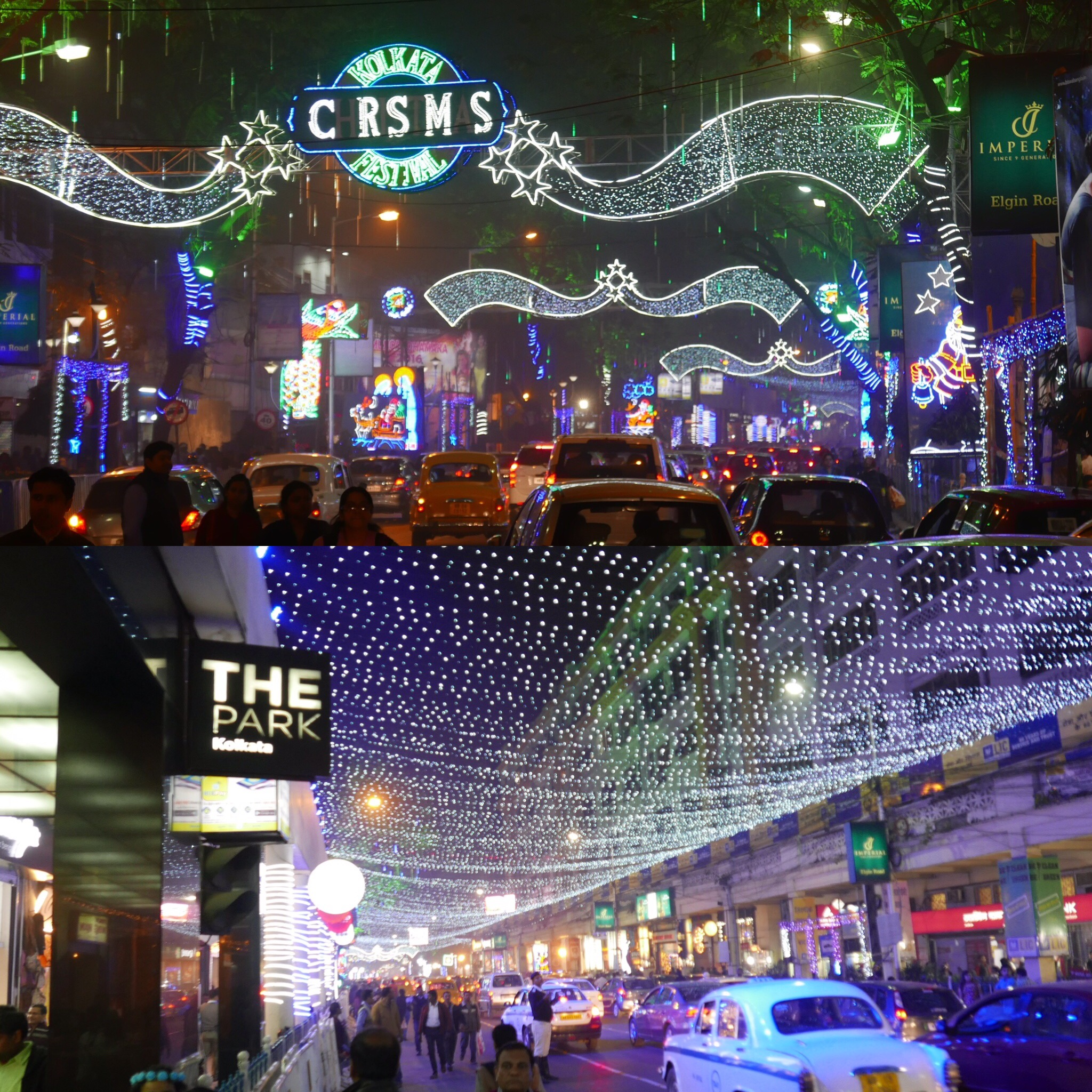 Park Street Kolkata During Christmas.Christmas Illumination In Kolkata Unique Moments With Seema